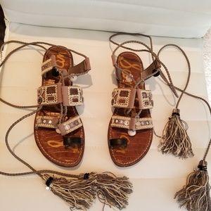Sam Edelman Pom-Pom Sandals